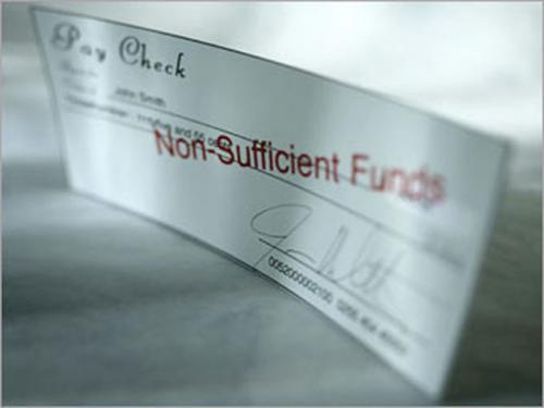 Cheques sin Provision