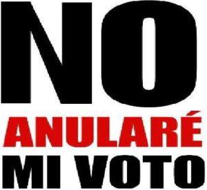 no anulare mi voto.